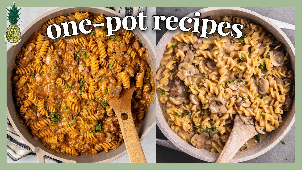 11 One-Pot Vegan Recipes