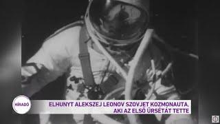 Elhunyt Alekszej Leonov szovjet kozmonauta, aki az első űrsétát tette