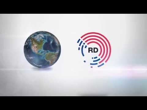 Radio Dalmacija Logo Opener Globe