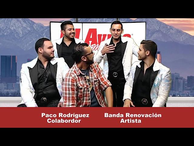TE HE PROMETIDO, BANDA RENOVACIÓN (ENTREVISTA EN VIVO) PLATICAMOS DE SU REALITY - El Aviso Magazine