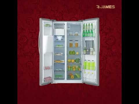 Heladera James 2 Puertas C/Freezer 502 Lts. Inox