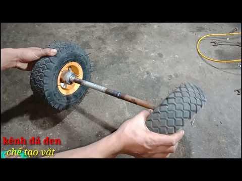Chế xe đẩy hàng 2 bánh đơn giản mà hiệu quả nhất