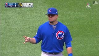 Kyle Schwarber Defensive Highlights 2017 (Chicago Cubs)