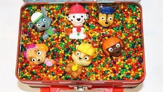 Щенячий патруль Игрушки Сюрпризы в Коробке Видео для детей про игрушки из Мультик Щенячий патруль