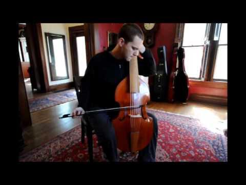 D minor prelude by Carl Friedrich Abel