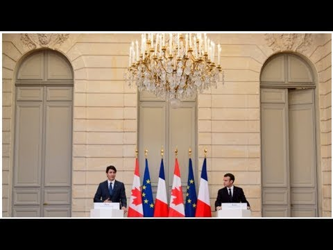 Trudeau defends EU-Canada trade deal benefits in Paris