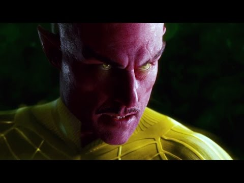Sinestro Post-credits scene | Green Lantern Extended cut