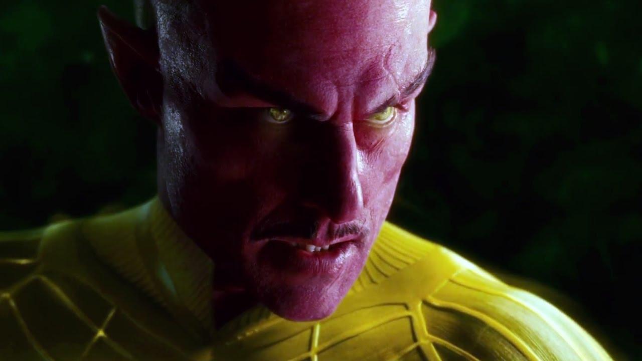 Mark strong sinestro yellow