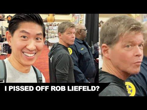 Meeting Rob Liefeld At Wizard World Bay Area 2019