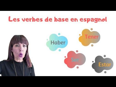 Les Verbes De Base En Espagnol Youtube