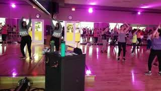 BollyShape class at Life Time Fitness in Princeton NJ