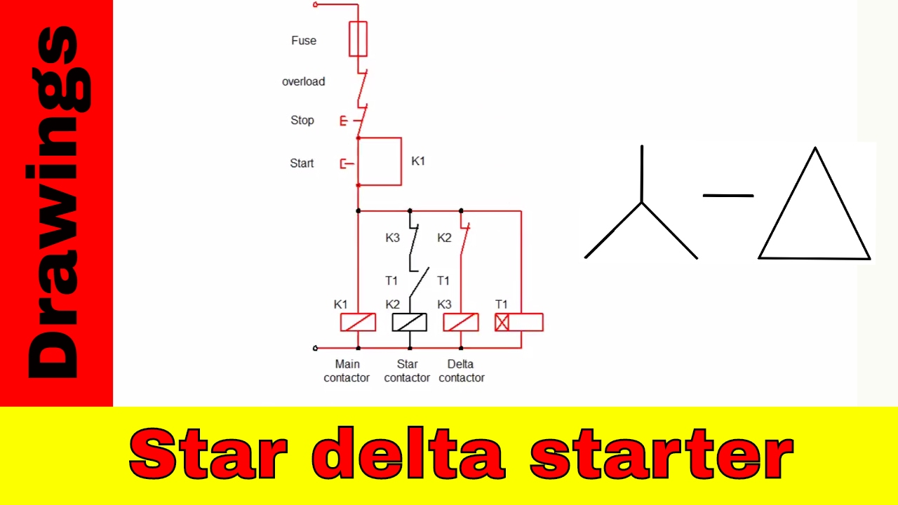Wiring Diagram For Telemecanique Star Delta Starter