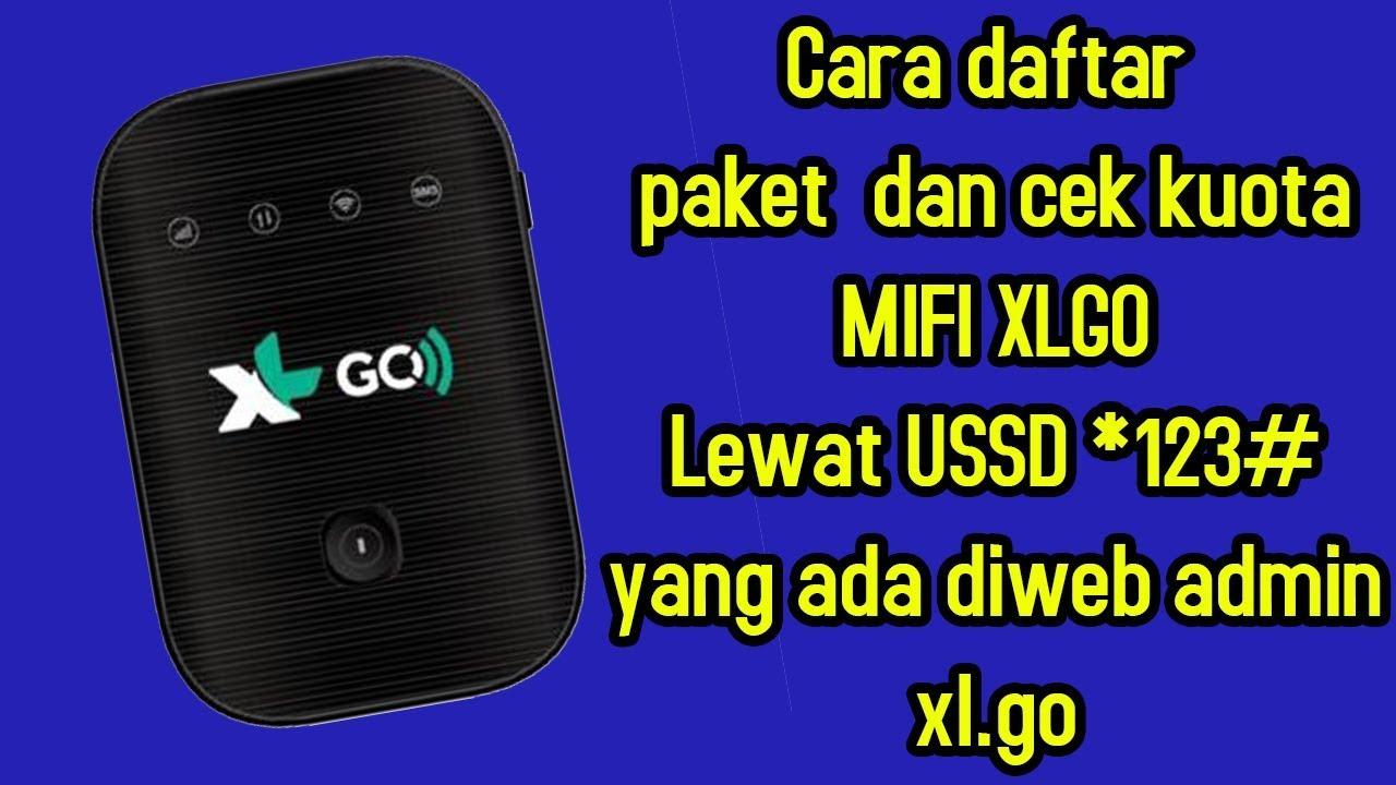 Daftar Paket dan cek kuota Mifi XL GO dengan USSD yang ada diweb ...