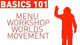 Basics 101: Menu, Workshop, Worlds & Movement! (Space Engineers)