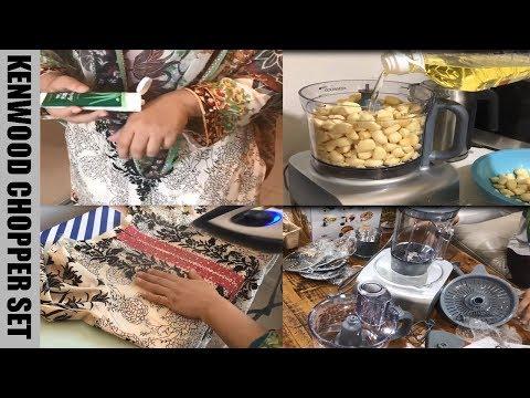 Kenwood Chopper Set , Review ,Tips , Recipe  / Pakistani Mom In Australia