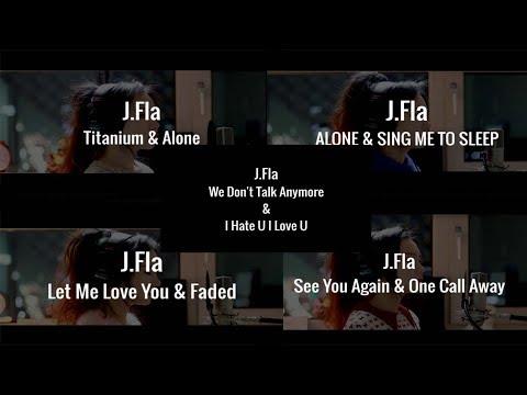 Lyric Video All J.Fla Mashup (Part 1)