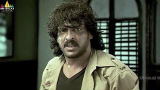 Salute | Vishal and Upendra Court Scene | Telugu Movie Scenes | Sri Balaji Video