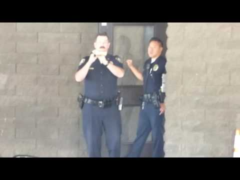 Inglewood Police Dept: PARANOID OFFICER OWNED, 1st Amend Audit