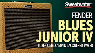 Fender Blues Junior IV  Lacquered Tweed Combo Amp Demo