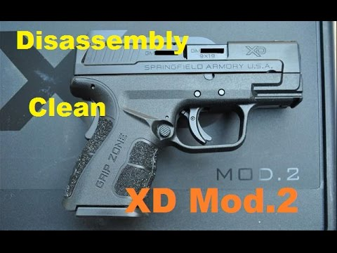 Cleaning Springfield XD Mod2 9mm