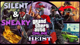 2 PLAYER STEALTH WALK-THROUGH ($2,358,000) | GTA Online Casino Heist Silent and Sneaky Finale Guide
