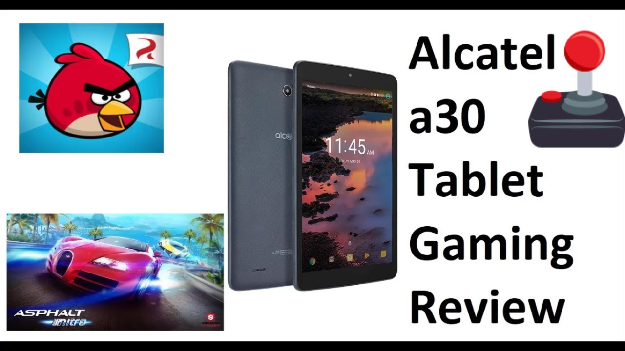 Alcatel a30 Tablet Gaming Review