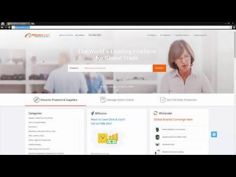 Alibaba Tutorial - How to Create & Set Up Your New Account (Alibaba.com)