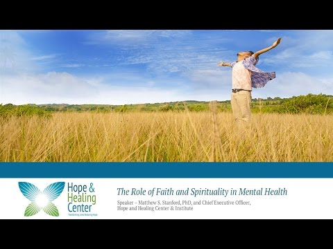 HHC-The Role of Faith and Spirituality in Mental Health