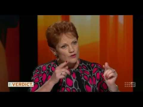 Pauline Hanson Admits On Air She Took Drugs !!!