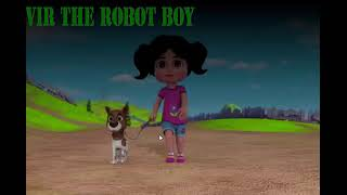 BINGO DOG SONG with Vir The Robot Boy Cartoon Animation Nursery Rhymes Songs by Kids Cartoon Rhymes