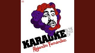 Regalame Esta Noche (Karaoke Version)
