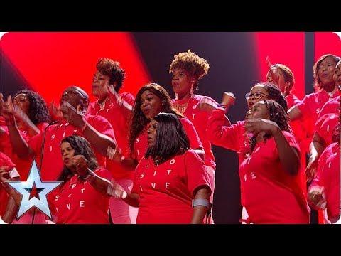 INSPIRATION ALERT! B Positive Choir RISE UP in the BGT Final! | The Final | BGT 2018