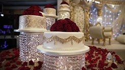 Asian wedding cakes ROYAL NOWAAB 5tier Crystal cake