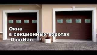 видео Гаражные ворота с окнами