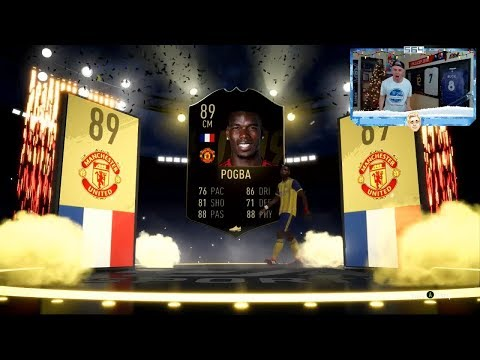 I PACKED INFORM POGBA!!! GUARANTEED TOTW SBC!