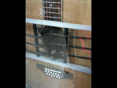 Automatic Guitar Playing Machine - YouTube