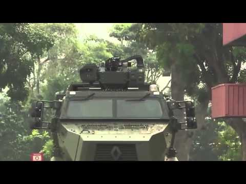 Peacekeeper PRV Protected Response Vehicle Singapore Army Armed Forces 6x6 Armored Military