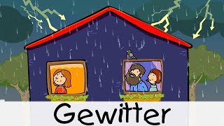 Gewitter || Kinderlieder zum Lernen