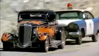 '34 Ford Coupe vs. '57 Plymouth in The California Kid