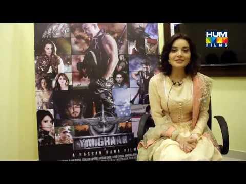 Armeena Rana Khan Wishing Eid USA Team YALGHAAR