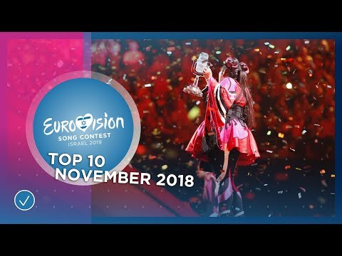 TOP 10: Most watched in November 2018 - Eurovision Song Contest