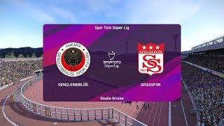 PES 2020   Genclerbirligi vs Sivasspor - Turkey Super Lig   22 December 2019   Full Gameplay HD