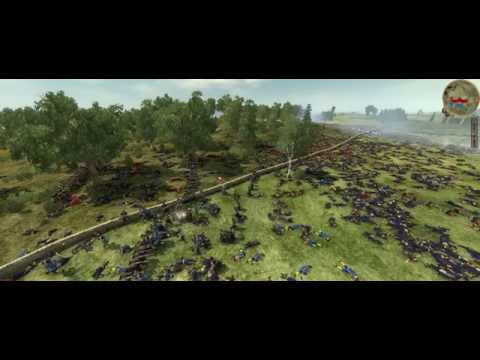 Empire  Total War colonialism 1600AD Swendish VS Poland 10000 VS 15000