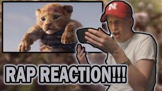 The Lion King Official Teaser Trailer RAP REACTION!!!