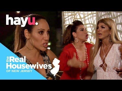 Jennifer's Dramatic Wine Glass SMASH! | Season 9 | Real Housewives of New Jersey