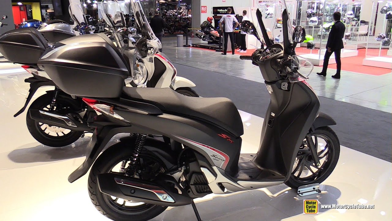 2016 honda sh125i abs scooter walkaround 2015 eicma. Black Bedroom Furniture Sets. Home Design Ideas