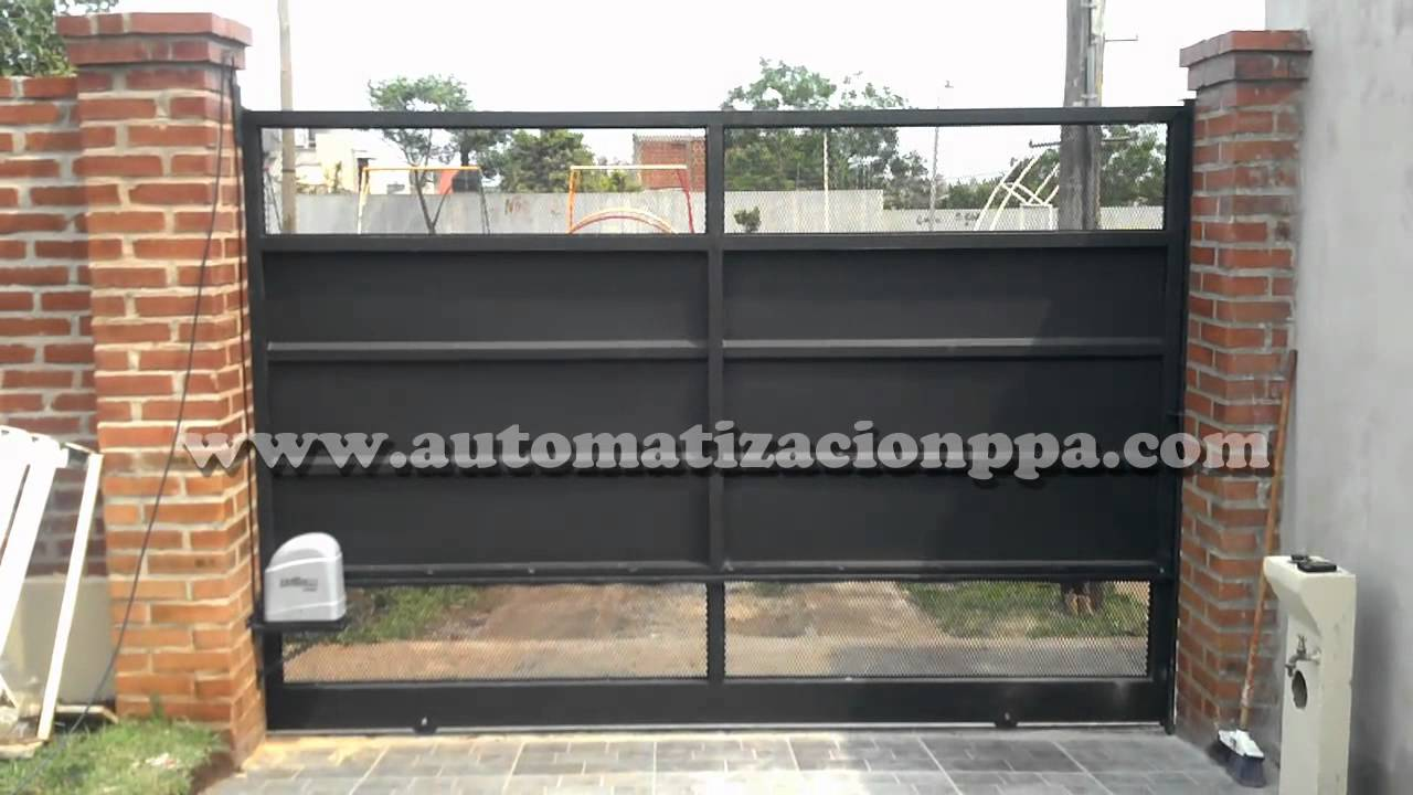 Port N Corredizo Autom Tico Con Motor Gatter 3000 By