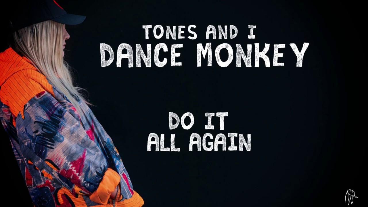 Tones And I Dance Monkey Lyric Video Youtube