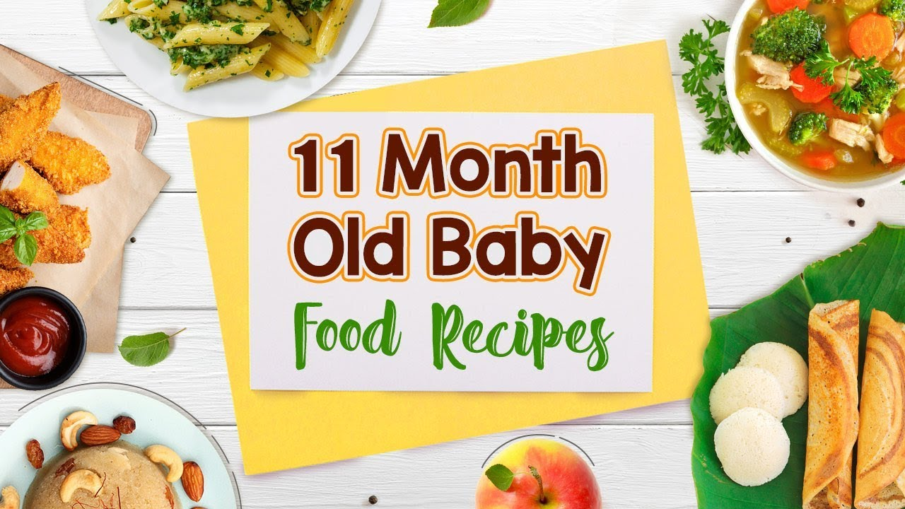 11 Month Old Baby Food Recipes