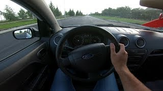 2009 Ford Fusion 1.4L (79) POV Test Drive